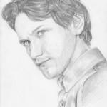 James McAvoy portré