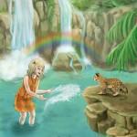 A vízesésnél - Gyémánt gyűrű varázsa